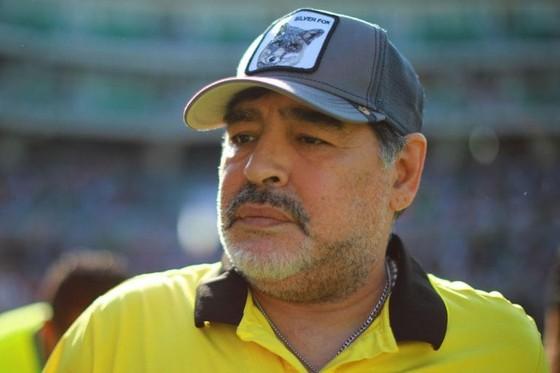 Cựu danh thủ Argentina Diego Maradona