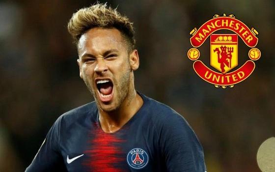 Nếu rời PSG, Neymar cvó tyhể gia nhập Manchester United.