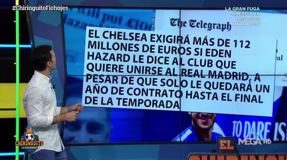 Chelsea ra giá Eden Hazard chỉ 110 triệu Euro! ảnh 1