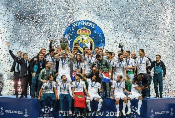 Real Madrid đăng quang cahm[pions Leagie năm thứ 3 liên tiếp