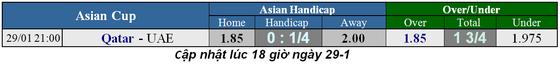 Lịch thi đấu bóng đá Asian Cup 2019, vòng bán kết ngày 29-1 (Mới cập nhật) ảnh 1