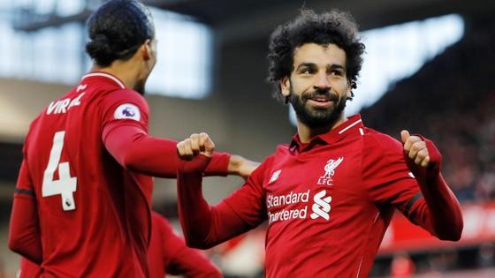 Mo Salah ghi bàn thứ 19 mùa này ở Premier League, cũng là bàn thứ 59 cho Liverpool