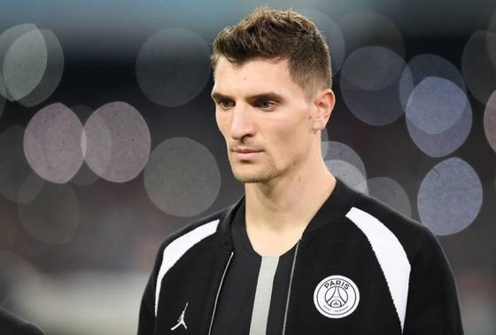 Hậu vệ cánh Thomas Meunier của Paris Saint-Germain