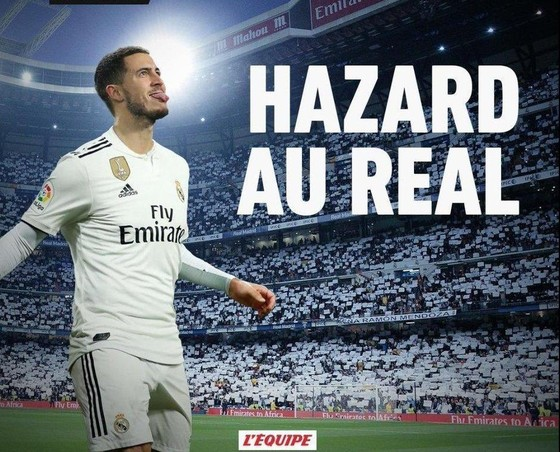 Sốc: L'Équipe khẳng định Hazard sang Real Madrid với 112 triệu Euro