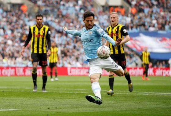 Man City - Watford: 6-0: Hattrick của Sterling, cú ăn ba củas Pep ảnh 3
