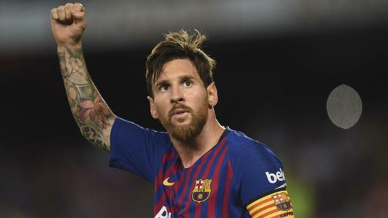 Lionel Messi đoạt giài Chiếc giày vàng châu Âu thứ 6 ảnh 1