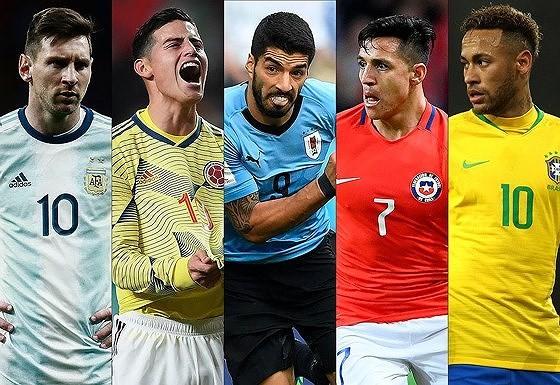 Lịch thi đấu bóng đá Copa America, vòng bán kết: Brazil đụng độ Argentina