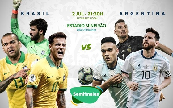 Brazil - Argentina 2-0: Gabriel Jesus tỏa sáng, Firmino hòa nhịp đưa Brazil vào chung kết