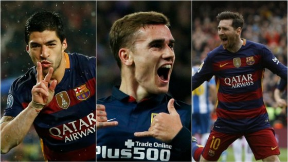 Messi-Suarez-Griezmann hàng tấn công khủng sẽ ghi hơn 100 bàn