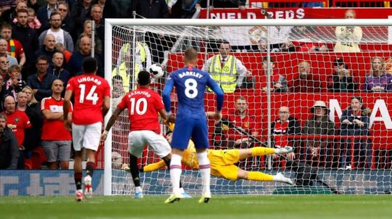 Man United - Chelsea 4-0: Rashford, Martial, James tỏa sáng, Quỷ đỏ vùi dập The Blue ảnh 7