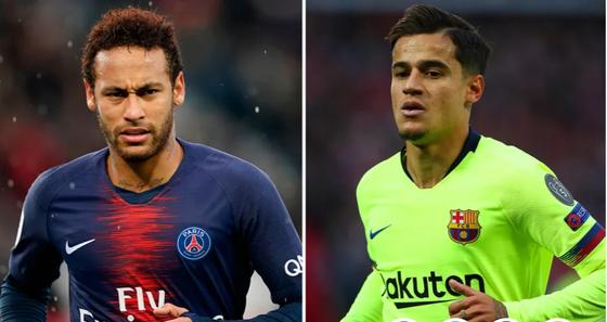 Luật sư Neymar đã đến Barcelona khi PSG sẵn lòng đổi lấy Coutinho