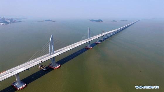 Trung Quốc khánh thành cây cầu vượt biển dài nhất thế giới nối Hong Kong với đại lục ảnh 14