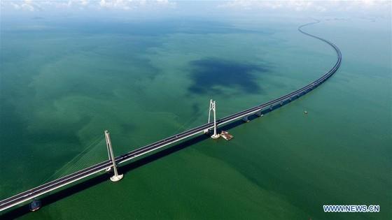Trung Quốc khánh thành cây cầu vượt biển dài nhất thế giới nối Hong Kong với đại lục ảnh 15