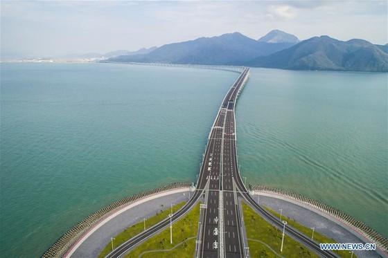Trung Quốc khánh thành cây cầu vượt biển dài nhất thế giới nối Hong Kong với đại lục ảnh 6