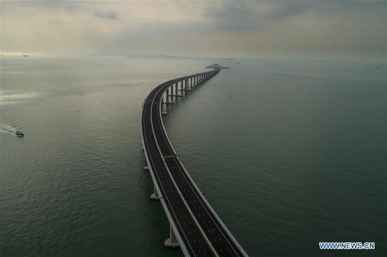 Trung Quốc khánh thành cây cầu vượt biển dài nhất thế giới nối Hong Kong với đại lục ảnh 7