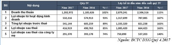 DAT XANH GROUP: Lợi nhuận sau thuế hợp nhất 2017 đạt 751 tỷ đồng ảnh 1