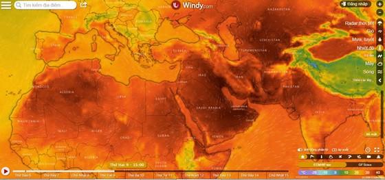 Thế giới hứng chịu đợt nắng nóng kinh hoàng ảnh 2