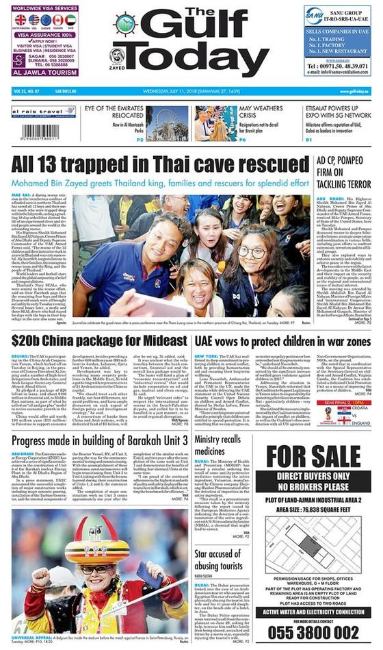 Báo chí thế giới đồng loạt ca ngợi hoạt động giải cứu tại Thái Lan ảnh 6