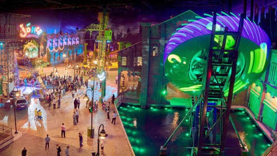 Công viên giải trí tỷ đô trong nhà ở Abu Dhabi ảnh 1