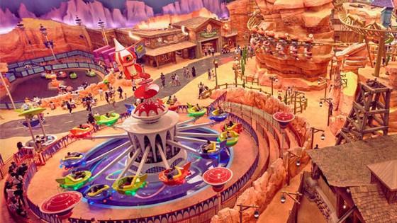 Công viên giải trí tỷ đô trong nhà ở Abu Dhabi ảnh 2