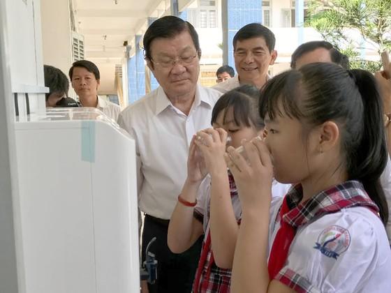 Giải bài toán nước sạch học đường tại huyện Thạnh Phú, Bến Tre  ảnh 4