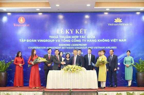 Vietnam Airlines - Vingroup ký thỏa thuận hợp tác  ảnh 1