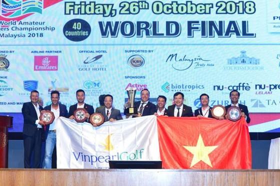 Những khoảnh khắc kỳ tích vô địch WAGC thế giới của đội tuyển golf Việt Nam ảnh 1