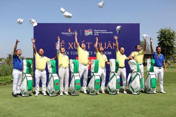 Những khoảnh khắc kỳ tích vô địch WAGC thế giới của đội tuyển golf Việt Nam ảnh 6