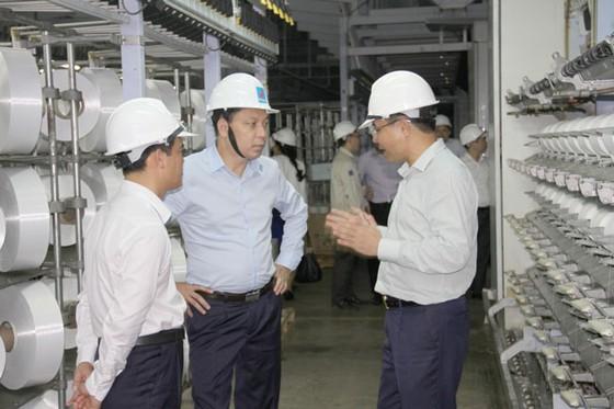 Bộ Công thương thăm dự án nhà máy xơ sợi polyester giữa Tập đoàn An Phát Holdings và PV Tex ảnh 1
