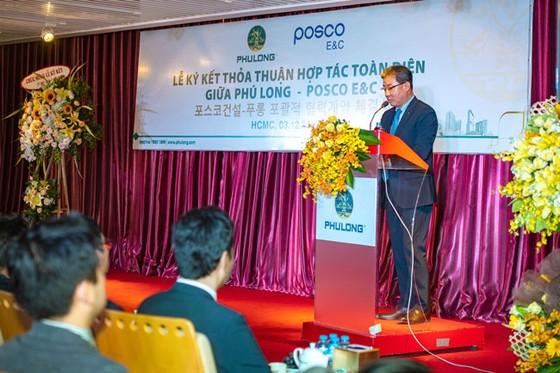 Phú Long ký kết thoả thuận hợp tác toàn diện với Posco E&C ảnh 1