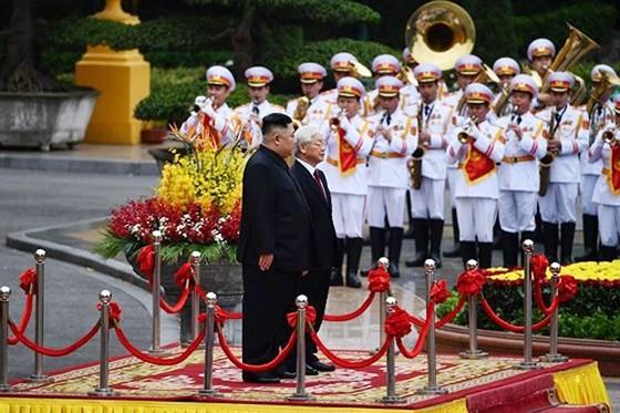 Lễ đón chính thức Chủ tịch Triều Tiên Kim Jong-un ảnh 6