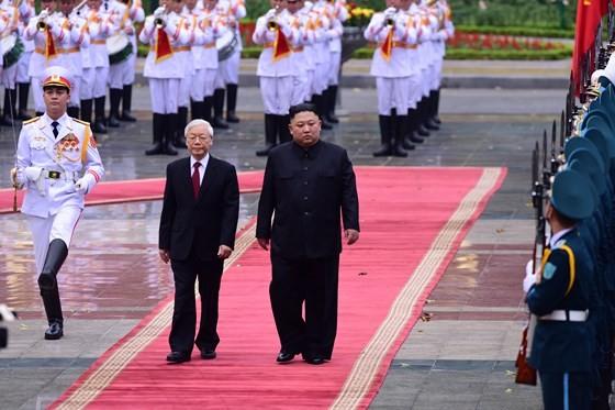 Lễ đón chính thức Chủ tịch Triều Tiên Kim Jong-un ảnh 4