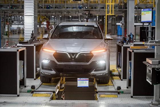 Khám phá bên trong nhà máy sản xuất ô tô VinFast ảnh 10
