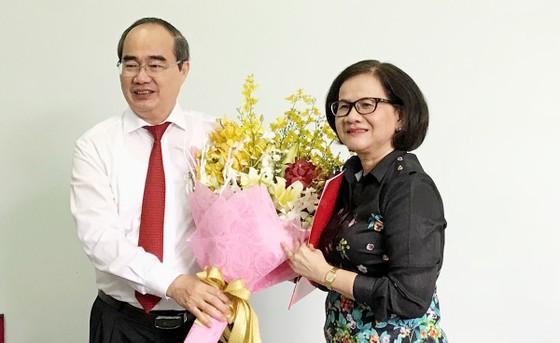 Bí thư Thành ủy TPHCM Nguyễn Thiện Nhân trao quyết định cán bộ ở Bình Thạnh ảnh 1