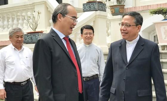 Bí thư Thành ủy TPHCM Nguyễn Thiện Nhân thăm, chúc tết các tổ chức, chức sắc tôn giáo ảnh 2