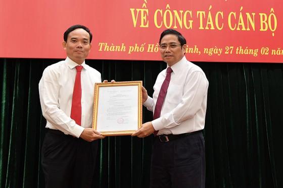 Bí thư Tỉnh ủy Tây Ninh Trần Lưu Quang làm Phó Bí thư Thường trực Thành ủy TPHCM ảnh 1