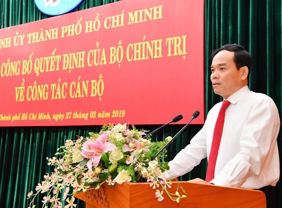 Nhiều gửi gắm với tân Phó Bí thư Thường trực Thành ủy TPHCM Trần Lưu Quang ảnh 2