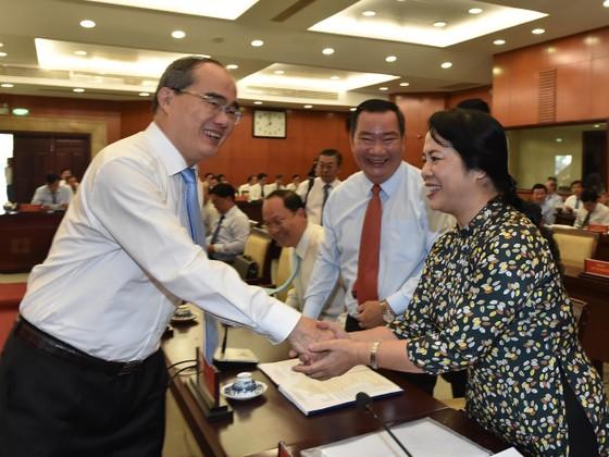 Hội nghị Thành ủy TPHCM bàn kế hoạch nhân sự cho nhiệm kỳ tới ảnh 4