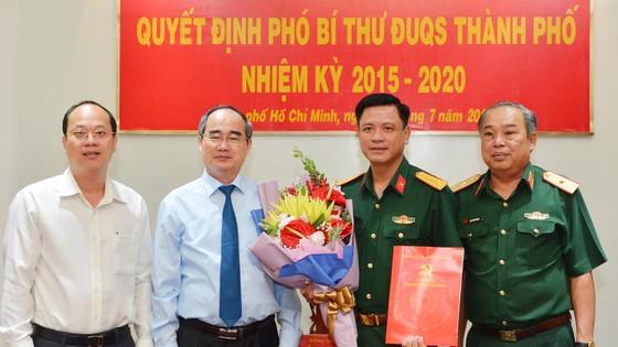 Đại tá Nguyễn Trường Thắng giữ chức Phó Bí thư Đảng ủy Quân sự TPHCM ảnh 1