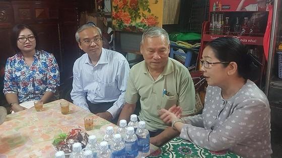 Bí thư Thành ủy TPHCM Nguyễn Thiện Nhân thăm gia đình chính sách ảnh 6