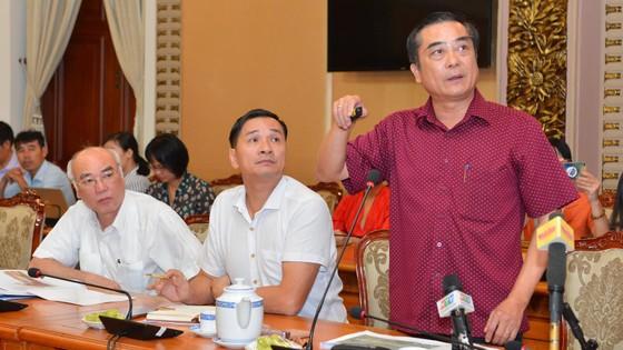 Bí thư Thành ủy TPHCM Nguyễn Thiện Nhân nghe đề xuất biến bãi rác ô nhiễm thành đô thị xanh ảnh 2