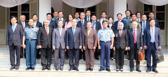Bí thư Thành ủy TPHCM Nguyễn Thiện Nhân đề xuất lập liên minh ứng phó biến đổi khí hậu  ảnh 2