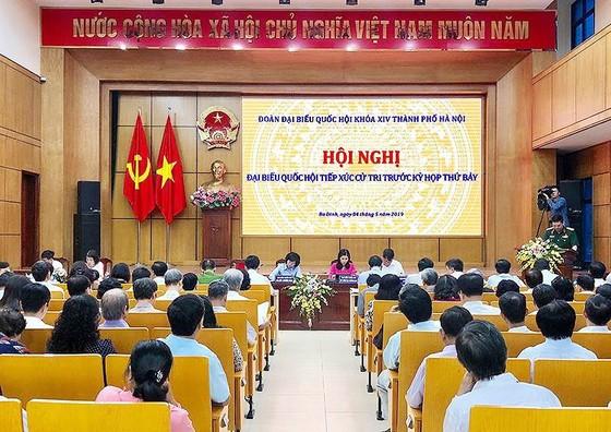 """Cử tri Hà Nội: """"Dân mong đồng chí Tổng Bí thư, Chủ tịch nước mau bình phục để tiếp tục trọng trách"""" ảnh 1"""