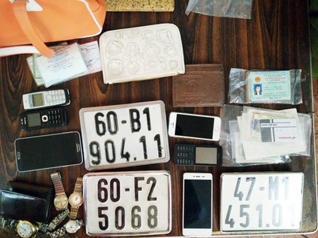 Triệt phá 3 băng nhóm cướp giật trên 20 vụ ở Đồng Nai ảnh 1