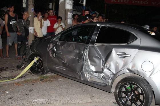 Diễn biến mới nhất vụ ô tô gây tai nạn liên hoàn, 6 người bị thương nhập viện ảnh 2