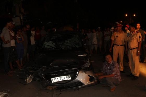 Diễn biến mới nhất vụ ô tô gây tai nạn liên hoàn, 6 người bị thương nhập viện ảnh 1