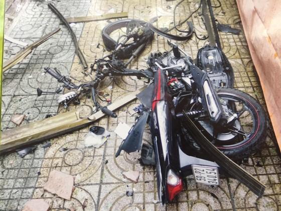 Công an TPHCM họp báo vụ nổ ở trước trụ sở công an phường 12, quận Tân Bình ảnh 10