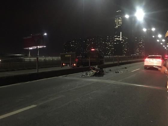 Tai nạn trên cầu Sài Gòn, 1 người tử vong, 2 người bị thương ảnh 6