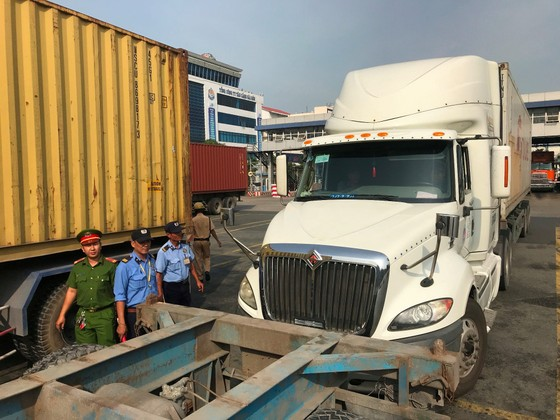 Tài xế container dương tính với chất ma túy ở cảng Cát Lái ảnh 8