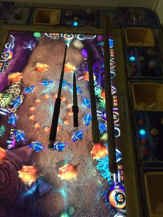 Bắt nhóm đối tượng chơi ma túy tập thể trong tiệm game bắn cá.  ảnh 1